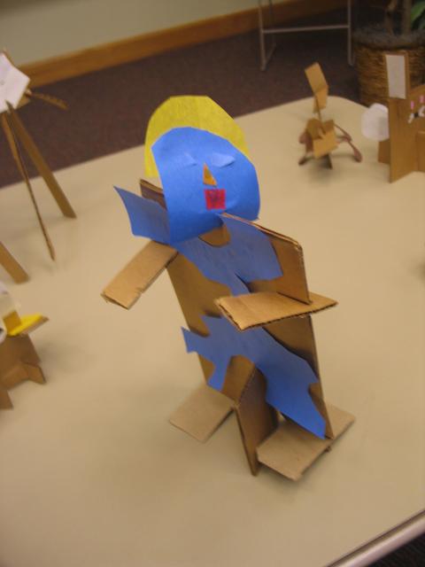 A Sculptor's Model
