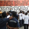 "Studying Mural: ""Crack is Wack"""