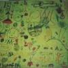 Tabletop Graffiti Mural