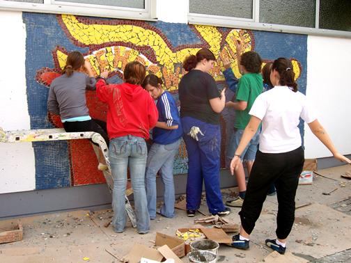 Haring Mosaic