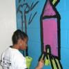 Haring Inspired Wall Murals