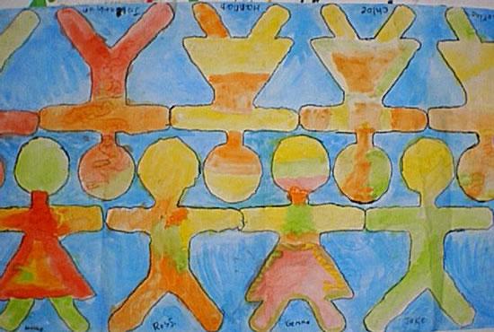 Friends Mural