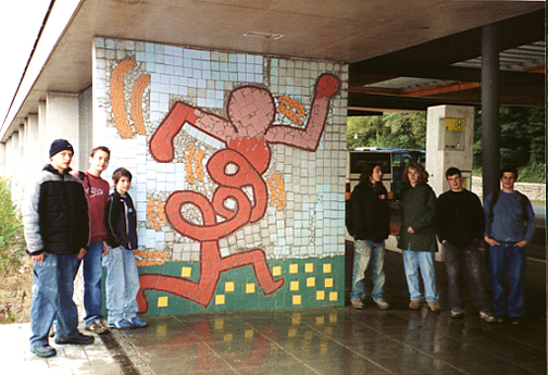 Bus Stop Mosaic