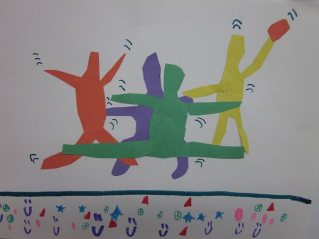 Jumping Kids Art
