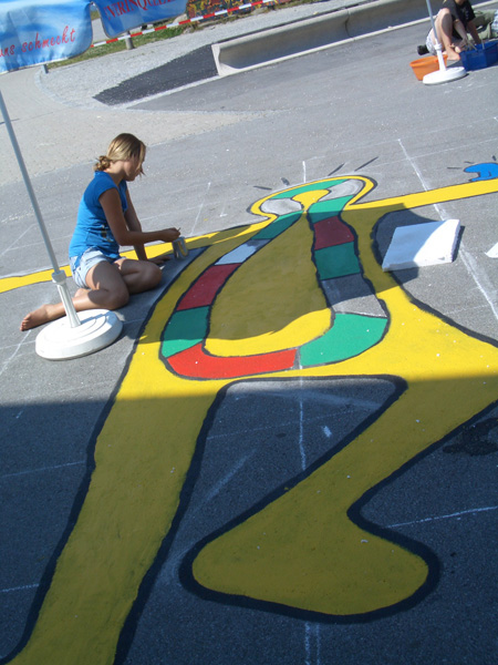 Street Art and Hopscotch