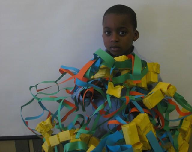 RNA Protein Strand Sculpture