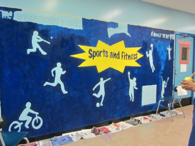 Mural Making in the Style Of Keith Haring